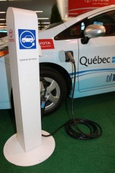 Plug-in hybrid charging station
