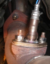 Oxygen sensor; photo courtesy YotaTech.com