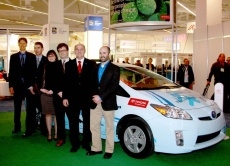 Brian Beck (City of Vancouver), Larry Hutchinson (Toyota Canada), Christina Ianniciello (Province of British Columbia), Maxime Dubois (Université Laval), Paul-Arthur Huot (Province of Quebec), and Ben Marans (City of Toronto).