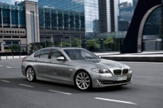 All new BMW 5 Series makes debut in New York ny auto show