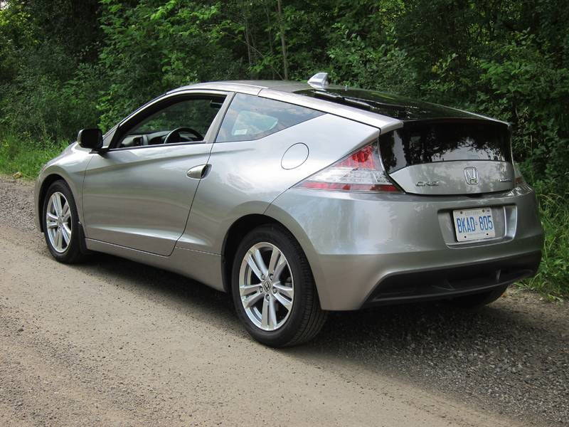 Test Drive: 2011 Honda CR Z auto articles
