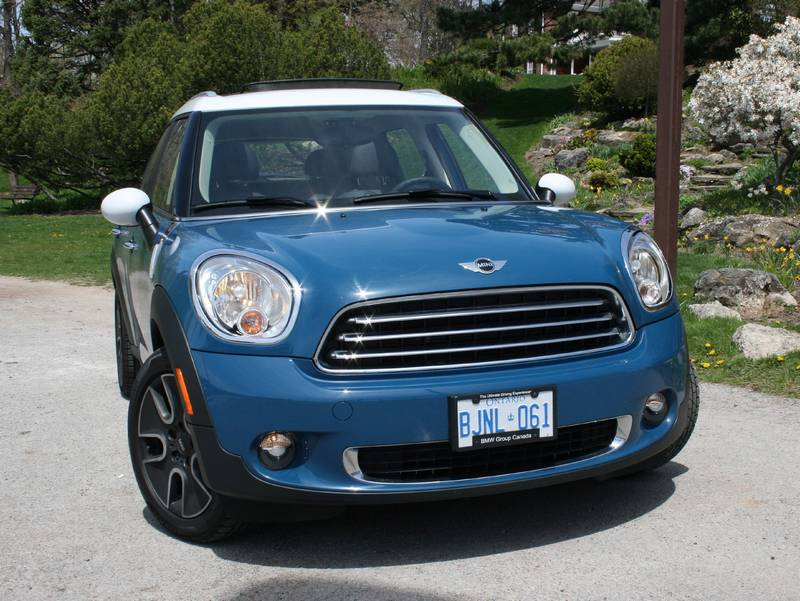 Test Drive: 2011 Mini Cooper Countryman car test drives reviews mini