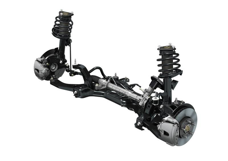 Mazda Skyactiv front suspension