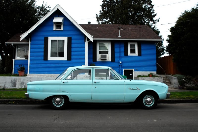 1961 Ford Falcon; photo courtesy OldParkedCars.com