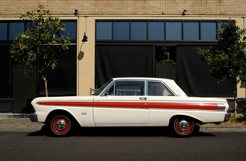 1964 Ford Falcon Futura; photo courtesy OldParkedCars.com