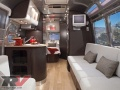 A modern Airstream trailer interior