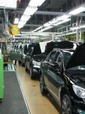 Ulsan factory, Ulsan, Korea, Genesis Sedan production