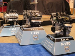 2011 Ford F-150 engines