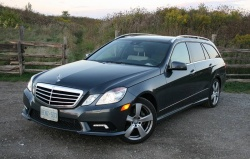 Test Drive: 2011 Mercedes Benz E350 4MATIC Wagon car test drives mercedes benz luxury cars