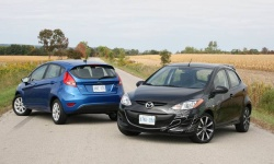 2011 Ford Fiesta vs. 2011 Mazda2
