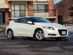 Test Drive: 2011 Honda CR Z green scene