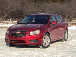 Test Drive: 2011 Chevrolet Cruze LT Turbo+ chevrolet