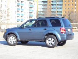 Test Drive: 2011 Ford Escape XLT AWD four cylinder car test drives ford
