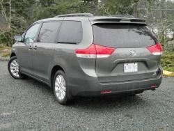 2011 Toyota Sienna base four-cylinder