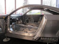 Audi TT RS structure