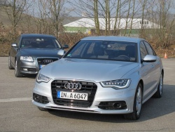 2012 Audi A6 and TT RS