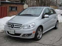 2011 Mercedes-Benz B 200 Turbo Avantgarge Edition