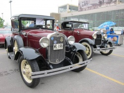1930 and 1928 Model A Fords