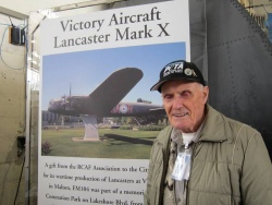 Philip Gray flew a Lancaster Bomber on 16 operations in WW2