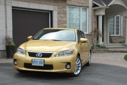 Test Drive: 2011 Lexus CT 200h auto articles videos reviews luxury cars lexus makes car test drives