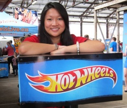Melissa Chau, Brand Manager for Hot Wheels in Canada