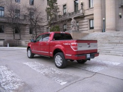 Test Drive: 2011 Ford F 150 Platinum EcoBoost trucks car test drives reviews ford auto articles