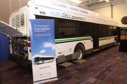 BC Transit hydrogen fuel-cell bus
