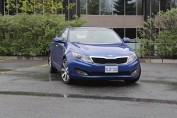Test Drive: 2011 Kia Optima EX Luxury auto articles
