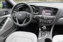 Test Drive: 2011 Kia Optima EX Luxury auto articles reviews kia car test drives