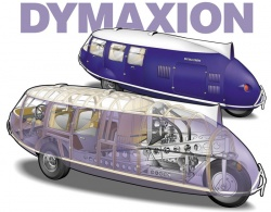 Dymaxion cutaway; image courtesy IllustratorWorld.com and artist David McCord