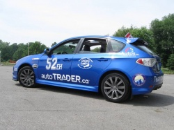 Autos.ca Rally Appalachia 2010 Subaru WRX