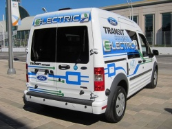 Feature: Ford Transit Connect Electric ford auto articles electric green news