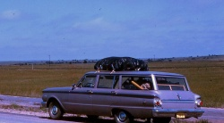 The 1962 Mercury Comet that (barely) got the Bleakney family across the continent in one piece