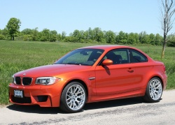 Test Drive: 2011 BMW 1 Series M Coupe bmw