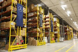 Feature: New Mercedes parts warehouse supplies the country  auto brands