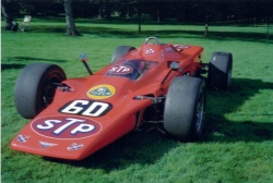 1968 Lotus 56 4WD turbine Indy racer