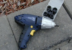 Mastercraft 3.5-amp impact wrench