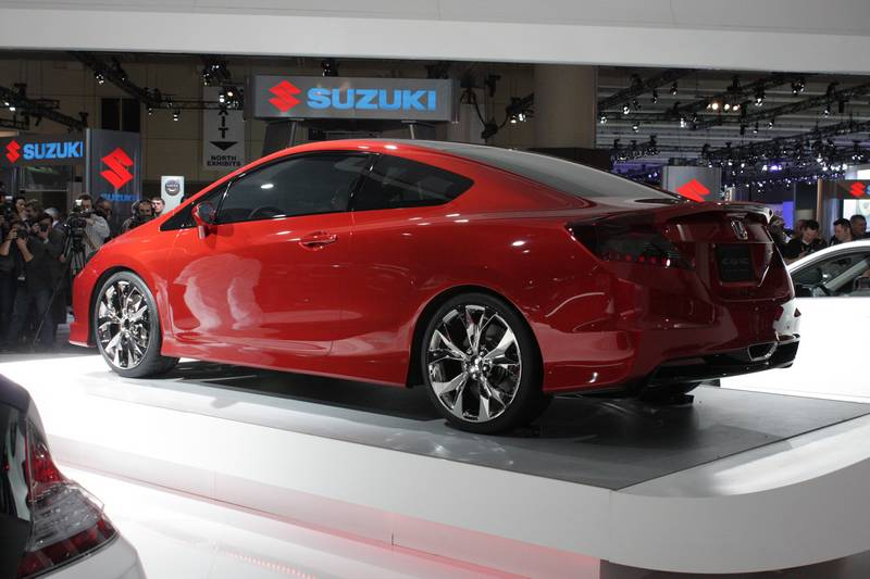 Honda Civic Si Concept Coupe a preview of 2012 Civ...