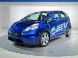 Honda Fit battery electric vehicle concept