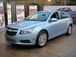The Cruze Eco can be identified by its lower grille