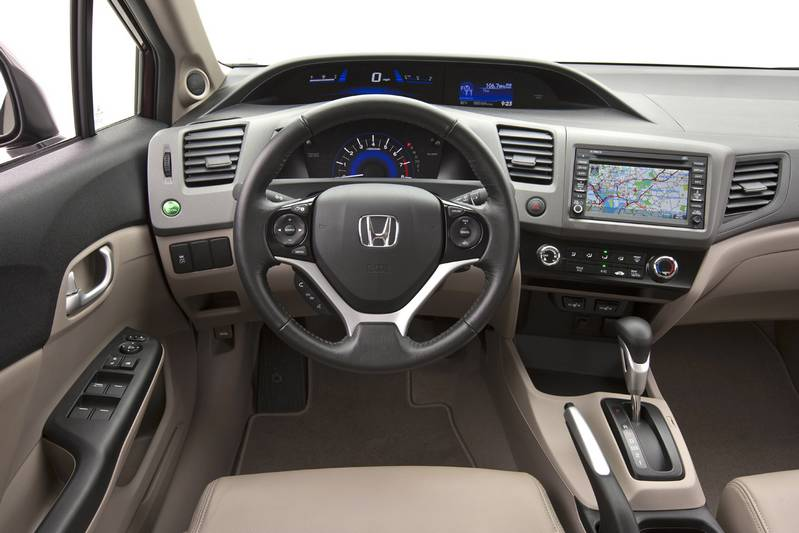 2012 Honda Civic EX-L sedan