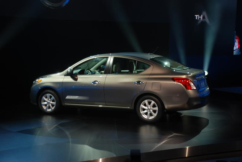 First Drive: 2012 Nissan Versa sedan auto articles