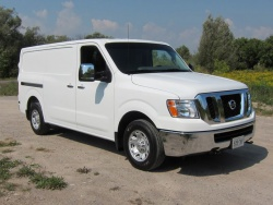 Test Drive: 2012 Nissan NV 2500  trucks car test drives reviews nissan