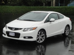 Test Drive: 2012 Honda Civic Si coupe car test drives reviews honda
