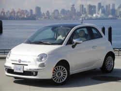Test Drive: 2012 Fiat 500 Lounge reviews fiat car test drives