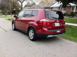 Test Drive:  2012 Chevrolet Orlando 2LT reviews chevrolet car test drives