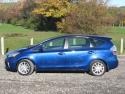 Test Drive: 2012 Toyota Prius V greenreviews
