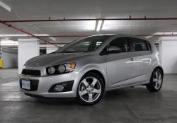 2012 Chevrolet Sonic LTZ hatchback