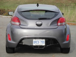 2012 Hyundai Veloster tech package with dual-clutch transmission