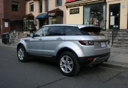2012 Land Rover Evoque Pure